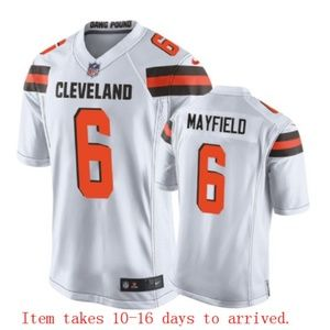 Mens Cleveland Browns #6 Baker Mayfield Jersey
